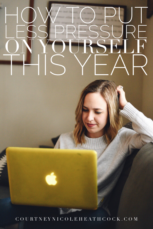 How to Put Less Pressure on Yourself This Year