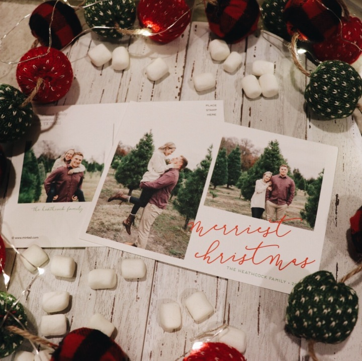 Our Merriest Christmas Cards with Minted | Courtney Nicole Heathcock Blog